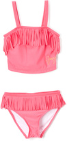 Juicy Couture Coral Fringe-Accent Tankini - Infant Toddler & Girls