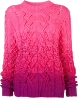 Spencer Vladimir Ombre Pink Sweater