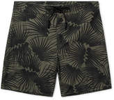Outerknown - Happy Evolution Long-length Printed Econyl Swim Shorts - Army green