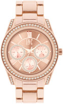 INC International Concepts Women's Rose Gold-Tone Bracelet Watch 40mm IN001RG, Only at Macy's