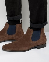 Dune Martime Suede Chelsea Boots