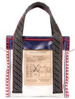 Balenciaga Scaffold Leather Tote Bag