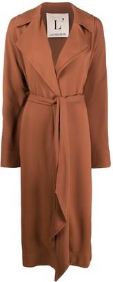 L'Autre Chose Tie-Waist Trench Coat