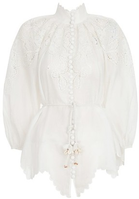 Zimmermann Scallop blouse