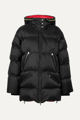 Bogner Harper-d Hooded Quilted Ripstop Down Ski Jacket - Black