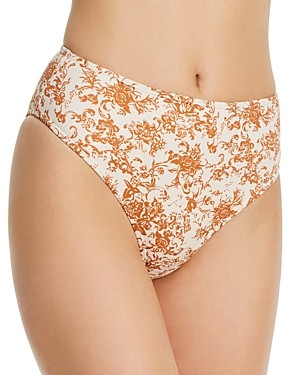 Caroline Constas Viki High-Waisted Bikini Bottom