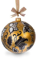 Jay Strongwater Butterfly Nouveau Artisan Glass Ornament