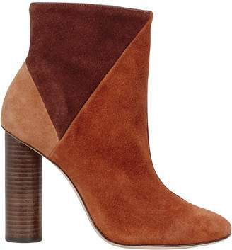 Ulla Johnson Carin Patchwork Suede Booties