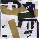 Kenzo printed scarf - women - Silk/Cotton - One Size