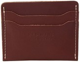 Red Wing Shoes Card Holder (Oro Russet Frontier) Wallet