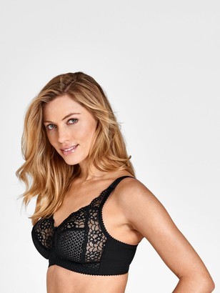 Miss Mary Of Sweden Miss Mary Cotton And Lace Soft Cup Side Support Bra