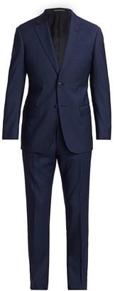 Emporio Armani Pin Stripe Virgin Wool Suit