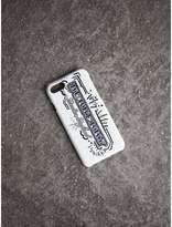 Burberry Étui pour iPhone 7 en cuir