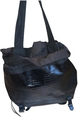 Elizabeth and James \N Black Patent leather Travel bags