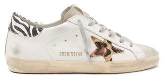 Golden Goose Superstar Leather Trainers - Womens - White Multi