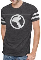 Hybrid Marvel Comics Avengers Age of Ultron Varsity Logo Mens T-shirt XL