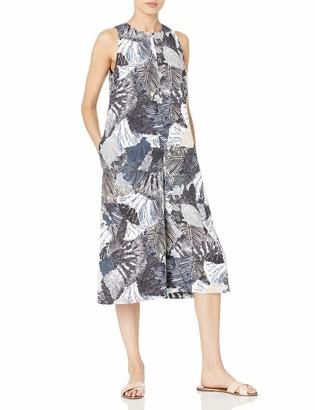 French Connection Women's Eso Lala Palm Drape Jumpsuit