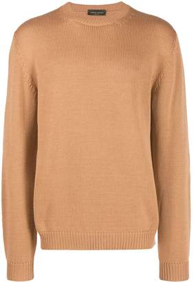 Roberto Collina long sleeves knitted sweater