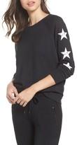 David Lerner Women's Star Raglan Pullover