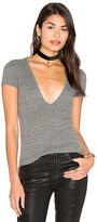 Lacausa Deep Scoop Tee in Gray. - size S (also in )