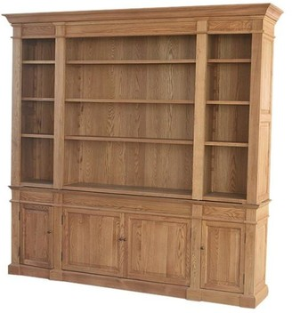 S & G Imports Dundas Bookcase Natural Oak