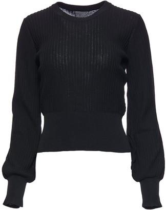 Hilary Macmillan Black Knit Sweater