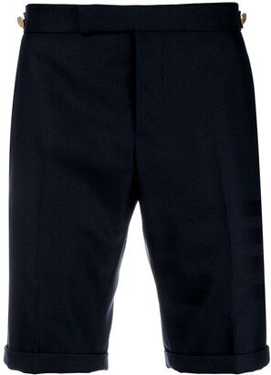 Thom Browne Sateen 4-Bar Skinny-Fit Short