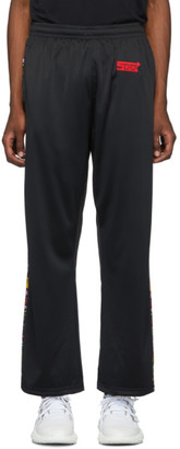 SSS World Corp Black Sponsors Track Pants