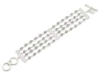 Freida Rothman Multi-Chain Bracelet