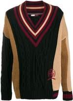 Tommy Hilfiger V-neck knitted jumper