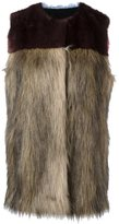 MSGM fur gilet - women - Modacrylic/Viscose - 40