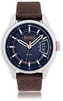 HUGO BOSS Hong Kong, Stainless Steel Textile Strap Sport Watch 1550002 One Size Assorted-Pre-Pack