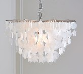 Pottery Barn Kids Star and Moon Capiz Chandelier