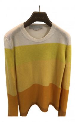 Stella McCartney Yellow Cashmere Knitwear