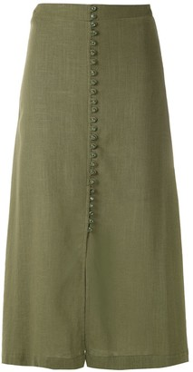 Olympiah Romania straight skirt