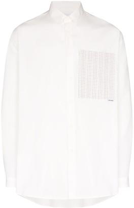 Sunnei Contrast Pocket Shirt