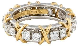 Tiffany & Co. Diamond Sixteen Stone Ring