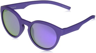Polaroid Sunglasses Girls' Pld8019s Polarized Oval Sunglasses VIOLET 45 mm