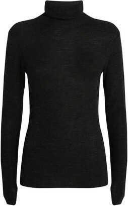 Ganni Merino Wool Rollneck Sweater