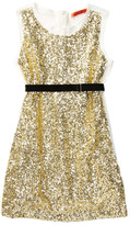 Funkyberry Sleeveless Sequin Dress (Toddler Girls)