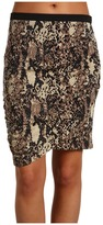 Kenneth Cole New York Faux Wrap Skirt