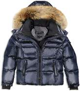 SAM. Boys' Fur-Trimmed Puffer Jacket