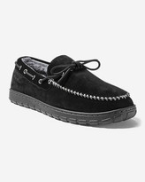 Eddie Bauer Men's Shearling-Lined Moccasin Slipper