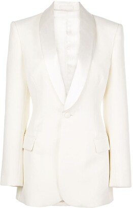 Wardrobe NYC x The Woolmark Company Release 05 single-breasted suit jacket