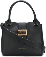 Burberry buckle detail tote bag - women - Calf Leather/Polyamide - One Size