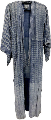 Non Signã© / Unsigned Kimono Blue Cotton Jackets