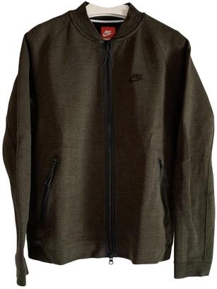 Nike Green Polyester Knitwear & Sweatshirts