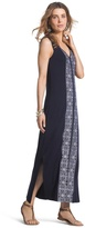 Chico's Embroidered Maxi Dress