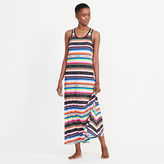 Ralph Lauren Striped Jersey Maxi Nightgown