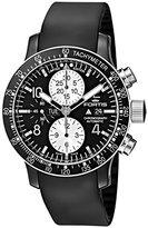 Fortis Men's 665.12.71 K B-42 Stratoliner Chronograph Analog Display Automatic Self Wind Black Watch